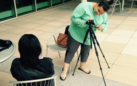 Day 2: Students prepare for final video shoot