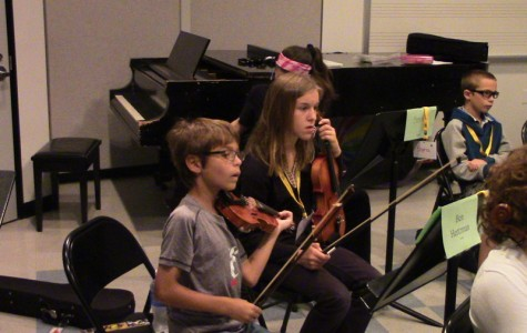 Music camp inspires young children