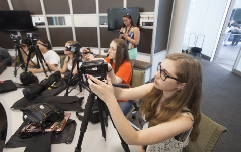 NKU's Journalism Workshop Presents Digital Media to High School Students