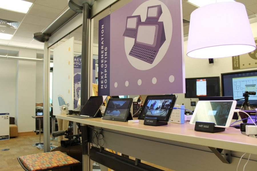 Tablets can be seen at the Center for Applied Informatics.