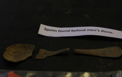 Artifact found at the Parker Academy dig site.