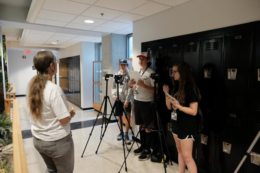 Students interview Dr. Maggie Whitson about their time in the Herbarium.