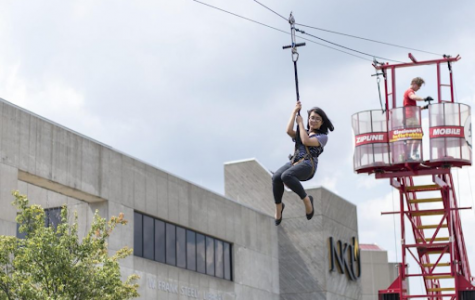 Zipline at the 2017 FreshFusion.